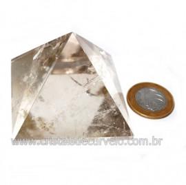 Pirâmide Fumê Pedra Baseada Nas Medidas da Quéops Cod 119014