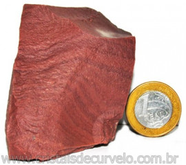 Dolomita Vermelha Pedra Natural Bruto de Garimpo Cod 110879