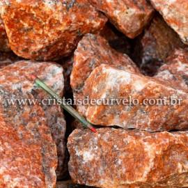 CALCITA LARANJA Pedra Bruto Pra Lapidar Pacote Atacado 20 kg