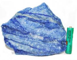 Quartzo Azul ou Aventurina Azul Bruto Natural Cod 106611