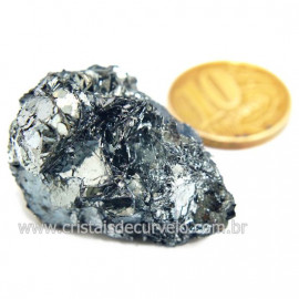 Galena Pedra Bruto Mineral Fonte Chumbo e Prata Cod 124251