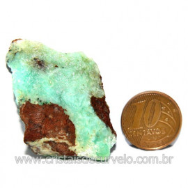 Crisoprasio Bruto Especial Pedra da Esperança Cod 119673