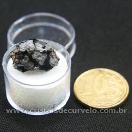 Obsidiana Flocos de Neve Pedra Natural Amostra Estojo Cod 126973