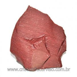 Dolomita Vermelha Pedra Natural Bruto de Garimpo Cod 116162