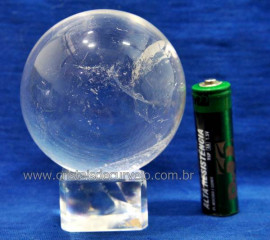 Bola Cristal Boa Qualidade Esfera Pedra Natural Cod BP6378