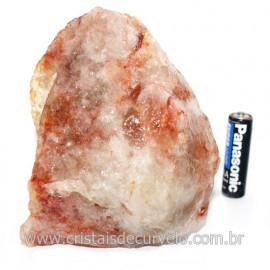 Hematoide Vermelho Natural Quartzo Cristalizado Cod 121502
