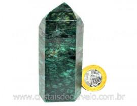 Ponta Fuxita Verde Pedra Natural Mineral Garimpo Cod PF9440
