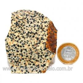 Jaspe Dalmata Pedra Natural Mineral de Esoterismo Cod123299