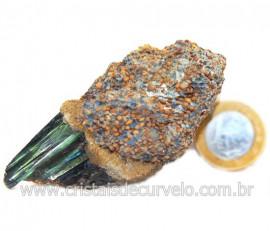 Vivianita Extra Pedra Matriz Siderita Bruta Natural Cod 127865
