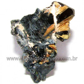Rutilo na Matriz de Hematita Aglomerado Natural Cod 1162999