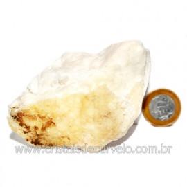 Selenita Laranja Pedra Natural Para Esoterismo Cod 123997