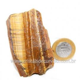 Olho de Tigre Pedra Extra Bruto Natural da África Cod 121212