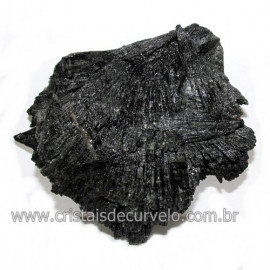 Cianita Preta ou Vassoura de Bruxa Pedra Extra Cod 117995