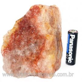Hematoide Vermelho Natural Quartzo Cristalizado Cod 121493