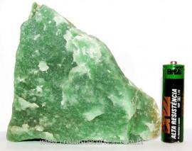 Quartzo Verde Aventurina Pedra Natural Mineral para lapidar ou Esoterismo Cod QV1400