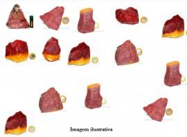 20kg Quartzo Vermelho Pedra Bruta Pra Lapidar Pacote Atacado