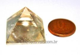 Piramide Citrino Natural Medidas Baseada em Queops Cod PC6458