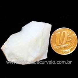 Opala Branca Pedra Genuina P/Coleçao ou Lapidaçao Cod 123822