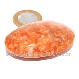 Sabonete Massageador Calcita Laranja Pedra Natural 121156