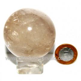 Esfera Quartzo Cristal Tok Fumê Extra Quartzo Fumado 119804