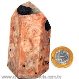 Peso de Papel Turmalina Feldspato Quartzo Mica Cod 113282