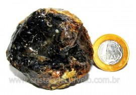Agata Negra Pedra Bruta Natural Para Colecionador Cod AB7084
