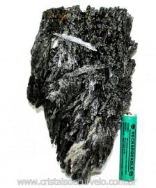 Cianita Preta ou Vassoura de Bruxa Pedra Extra Cod 110118