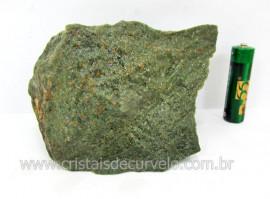 Basalto Verde Bruto Pedra Pra Colecionador ou Estudante de Minerais Geologia Cod 538.0