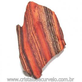 Jaspe Rajado Bruto Natural Pedra Ideal P/ Coleçao Cod 116172