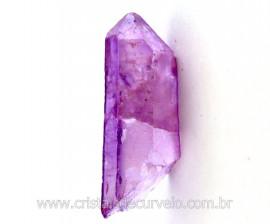 Ponta Crystal Aura Purple Flame ou Lilas Bruta Cod AL4839