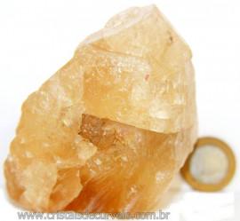 Calcita Mel Pedra Natural P/ Coleção e Esoterismo Cod 106622