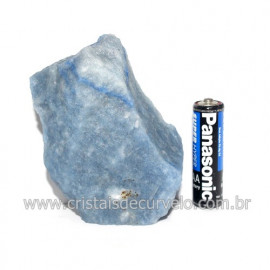 Quartzo Azul ou Aventurina Azul Bruto Natural Cod 123194