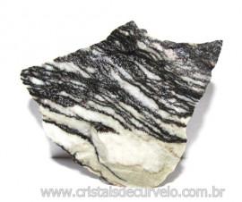 Jaspe Net Pedra de Garimpo Com Listras Naturais Cod 111261