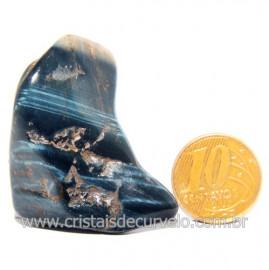 Olho de Falcão Rolado Pedra Natural Origem África Cod 123572