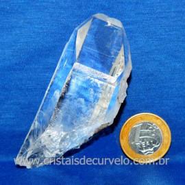 Lemuria Pequeno Quartzo Comum Cristal Lemuriano Natural Cod 119449