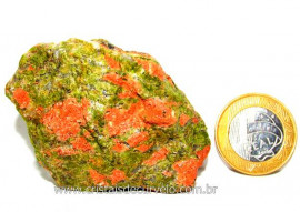 Unakita Pedra Bruta Natural De Garimpo Boa Cor Cod UB8899