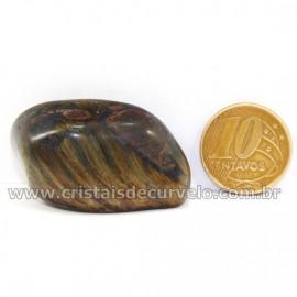 Olho de Falcão Rolado Pedra Natural Origem África Cod 127002