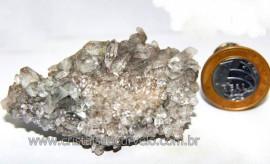 Drusa de Cristal Exótica P/Coleção Pedra Especial Cod 101430