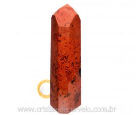 Ponta Obsidiana Mahogany ou Mogno Pedra Vulcanica Cod PM2208