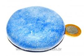 Massageador Disco Quartzo Azul Massagem Terapeutica Cod DA6194