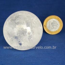 Bola Cristal Comum Qualidade Pedra Uso Esoterico Cod 121661
