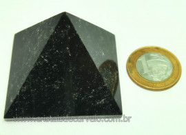 Piramide Obsidiana Negra Pedra Vulcanica Queops Cod PO5170