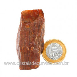 Aragonita Vermelho Pedra Bruto Mineral Natural Cod 123322