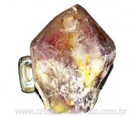 Ametista Terminado Grande Base Serrada Bruto Natural Mineral Comum Cod 4.208