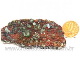 Ludlamita Pedra Matriz Siderita Bruta Natural Coleção Cod 127880