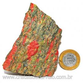 Unakita Pedra Bruta Natural De Garimpo Boa Cor Cod 116079