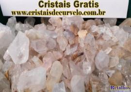 Gratis 1kg de RETALHOS Cristal pra Fazer ou Montar seu Proprio Orgonite Totalmente Gratis