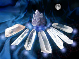 Cristal Lemuria Ou Semeador Lemuriano 1kg Pedras Super Extra Alta Qualidade Cod 200