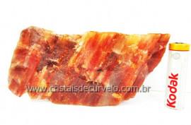 Aragonita Vermelho Pedra de Colecionador Mineral Bruto Rocha de Garimpo Cod 297.5