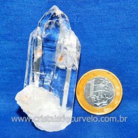 Lemuria Pequeno Quartzo Comum Cristal Lemuriano Natural Cod 119456